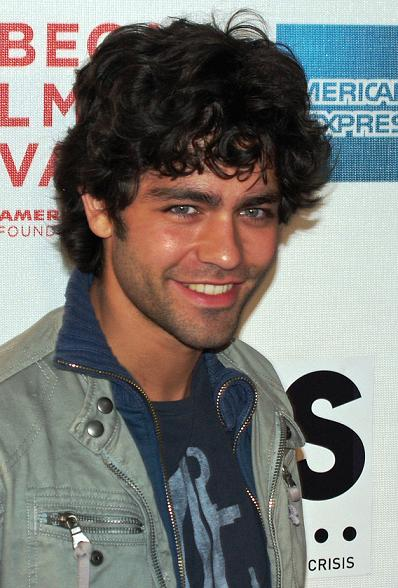 Adrian Grenier showing his wavy good hair