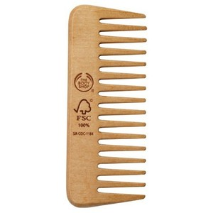 To avoid hair tangles and knots, the wide tooth comb is very useful