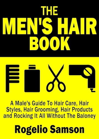 The book cover for The Men's Hair Book, formerly The Men's Hair Guide