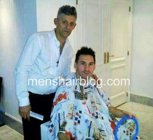 Surprising Leo Messis New Haircut And Style Shaggy Hairstyle Mens Hair Blog Short Hairstyles Gunalazisus