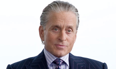 The Slick Back Hair Style As Portrayed By Michael Douglas In The Movie Wall  Street: