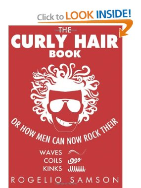 The front cover of the bestseller The Curly Hair Book