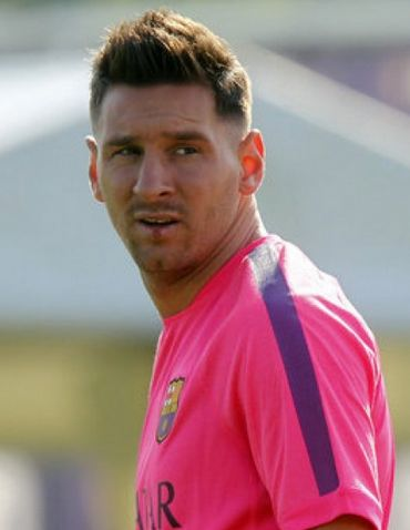 Leo Messi New Haircut And Hairstyle Pictures Men S Hair Blog